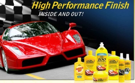 Formula 1 Car Care Products   WaxyClean - Car Detailing